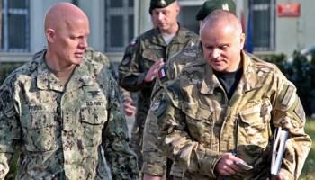 NATO SOF Commander visits POLSOF Command