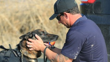 Author John David Mann & SEAL K9 Trainer Mike Ritland