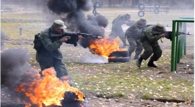 Sochi 2014: Russian Special Ops Troops Deployed to Protect Mountainous Perimeter