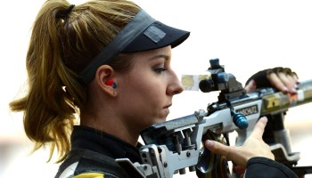 Olympic Shooter Cross Trains With Former Spec Ops Sniper