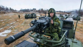 Canadians at Exercise Cold Response 2014