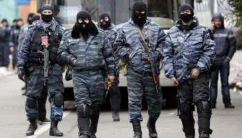The Future of Berkut Soldiers in Crimea and Ukraine