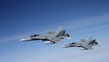 Canada to Send 6 CF-18s Fighter Jets to Poland