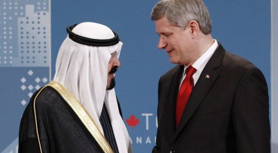 Selling Weapons To Two-Faced Regimes – Canada's New Deal