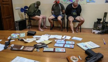 Three Ukrainian Special Forces Officers Captured by Pro-Russian Militia