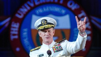 Admiral McRaven's Message To Grads: Lead By Example