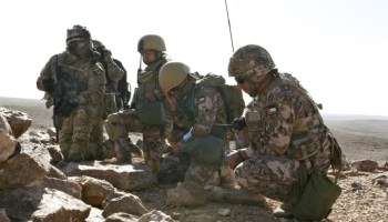 Canadian and Jordanian SOF Train In CBRN Scenarios