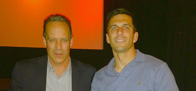 Korengal with Derek Herrera and Sebastian Junger in Santa Monica