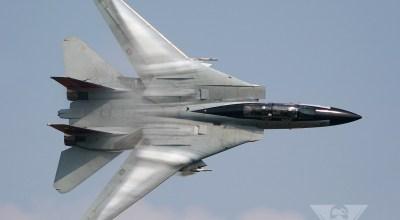 Epitomizing Awesome: F-14 Tomcat Flyby