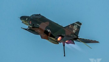 Burner Friday: McDonnell Douglas QF-4E Phantom II