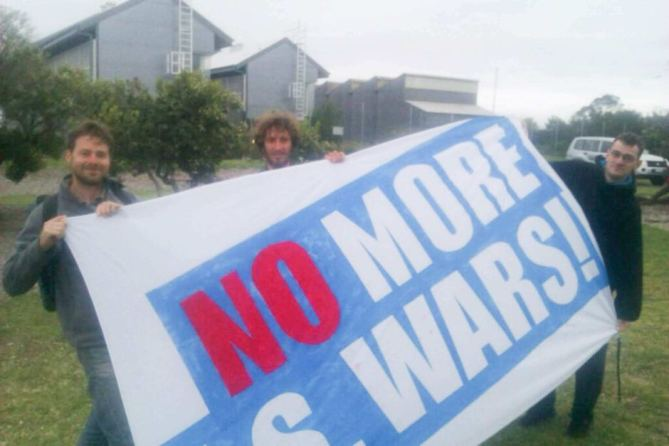 The Australian SASR's Answer to Trespassing Anti-War Protestors