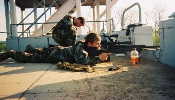 The Army Marksmanship Unit Cross-Trains 3/75 Snipers