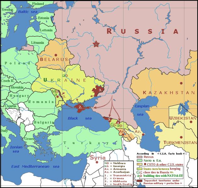 Eastern Europe, courtesy of Wikimedia Commons and Spiridon Ion Cepleanu