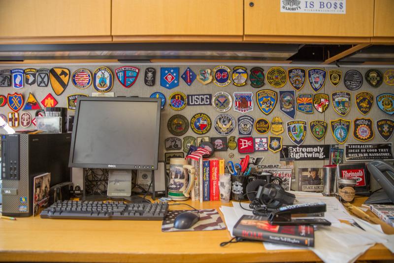 SOFREP's podcast command center