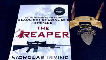 "Q&A With Nick Irving, Author of ""The Reaper"""