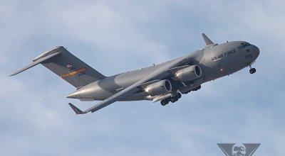 Boeing C-17A Globemaster III Catches Fire
