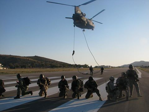 19th special forces group in training using the system