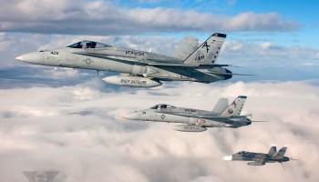 U.S. Navy F/A-18 Crashes At Fallon