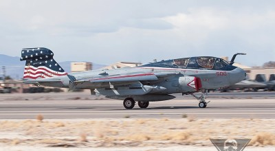 Navy Says Goodbye to the EA-6B