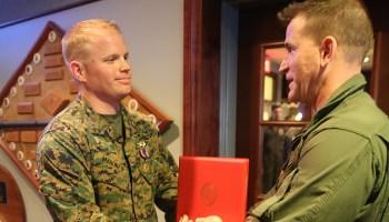 USMC Harrier pilot earns Air Medal