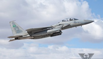 Saudi F-15SA Down in Gulf of Aden