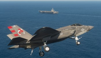 F-35C Back out to USS George Washington