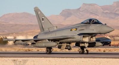 Eurofighter Typhoon Gets Upgrade
