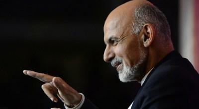Afghan President Ghani Visits Washington D.C.
