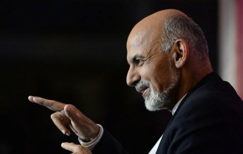 Afghan President Ghani Visits D.C.