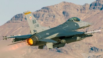 Burner Friday: Weapons School F-16CM
