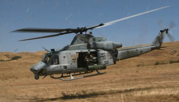 US Marine Helicopter Missing