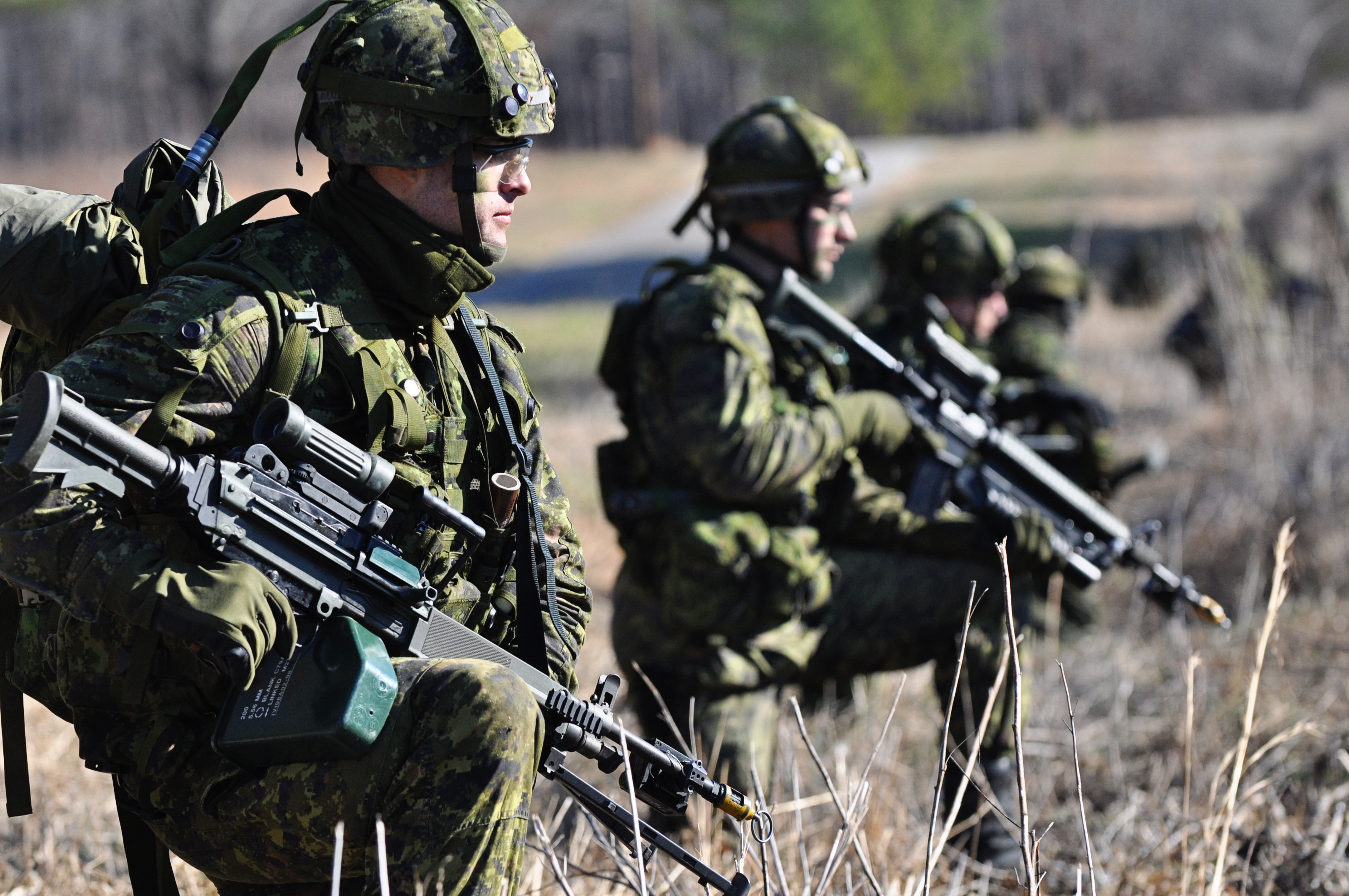 Canadian forces in Iraq mount pressure on Islamic State