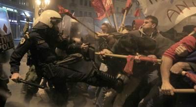 Civil Unrest Brews As Greek Bankruptcy Looms