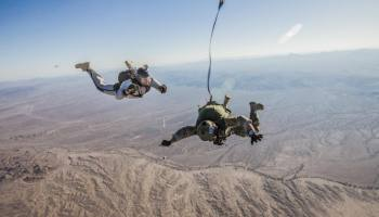Special Forces HALO Parachuting: Go Big or Go Home