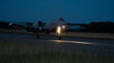 A-10s Conduct Austere Runway Ops