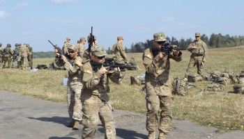 Video: Walk Downrange With American Paratroopers Training Ukrainian Forces