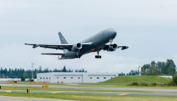 Milestone Monday: Boeing KC-46A Pegasus First Flight