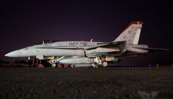 USMC F/A-18 Crashes in England