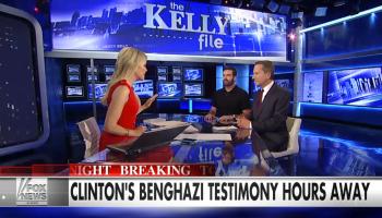 "Video: Navy SEAL Brandon Webb Debates Hillary's Forthcoming Benghazi Testimony on ""The Kelly File"""