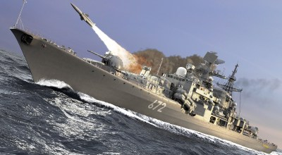 Russian Warships Shut Down Israeli Air Force Access to Syria