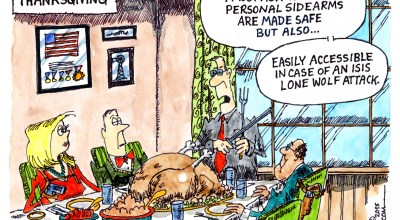 Happy Thanksgiving, No ISIS to See Here…