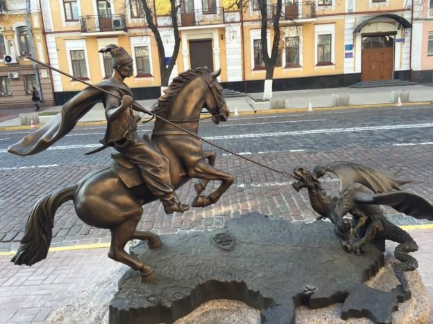 Ukraine-warrior-Donbass-russia-two-headed-dragon