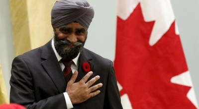 Meet Harjit Singh Sajjan, Canada's New Sikh Warrior Cabinet Minister