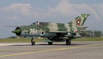 Air-to-Air With Bulgarian Air Force MiG-21s!