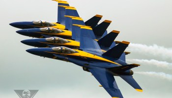 Blue Angels To Transition To Super Hornet?