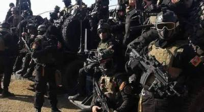 Iraqi Special Operations Forces Strike ISIS Stronghold of Ramadi