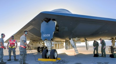 Milestone Thursday: First B-2A Spirit Delivered To USAF
