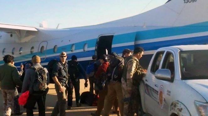 US Special Forces Team just deploy to al-watiya