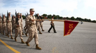 Making Marines: Arriving at Parris Island USMC Boot Camp