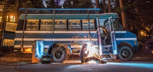 Nick Cahill Converting his Mini Bus